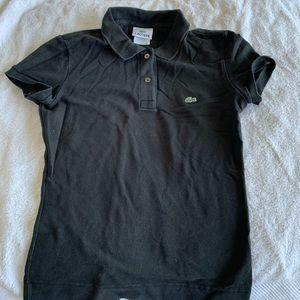 Lacoste Black Polo Shirt - FR 34/US 0